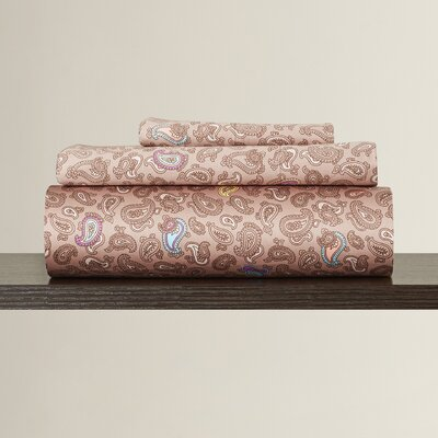 Ouarzazate 300 Thread Count 100% Cotton Sheet Set Size: Extra-Long Twin