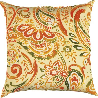 Laqdim Indoor/Outdoor Throw Pillow Color: Orange Grove