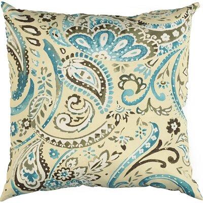 Laqdim Indoor/Outdoor Throw Pillow Color: Tide Pool