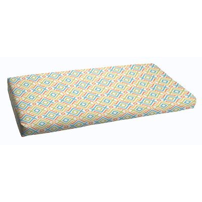 Terneuzen Outdoor Bench Cushion Size: 48 x 19