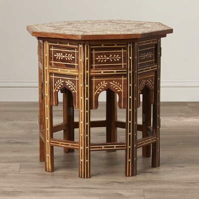 Khalaf Inlay End Table
