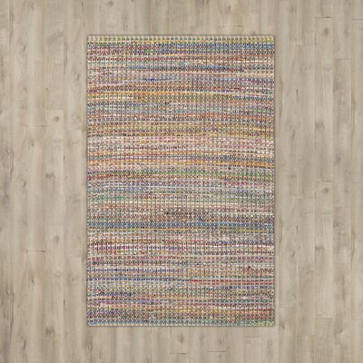 Anaheim Hand-Tufted Beige Area Rug Rug Size: Rectangle 8 x 10