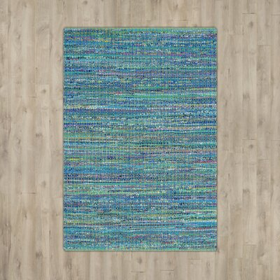 Anaheim Tufted Cotton Blue Area Rug Rug Size: Rectangle 4 x 6
