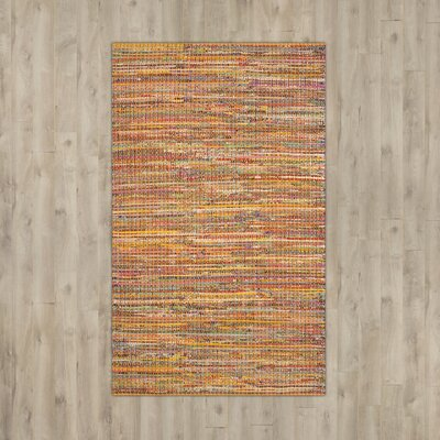 Anaheim Tufted Cotton Yellow Area Rug Rug Size: Rectangle 4 x 6