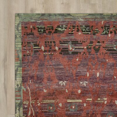 Mercado Hand-Knotted Pomegrante Area Rug