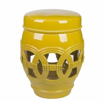 Ceramic Oversized Garden Stool Finish: Mustard Yellow