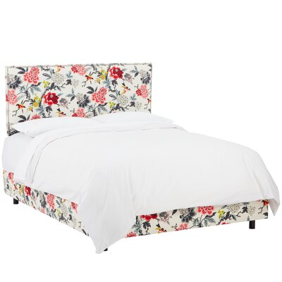 Framingham Upholstered Panel Bed Size: Full, Color: Pine