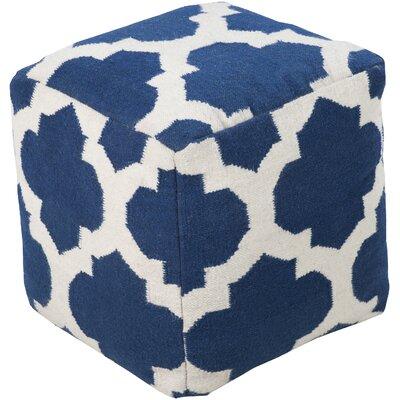 Aalia Pouf Upholstery: Cobalt