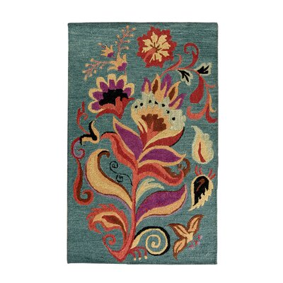 Broadmoor Blossom Area Rug Rug Size: Rectangle 4 x 6