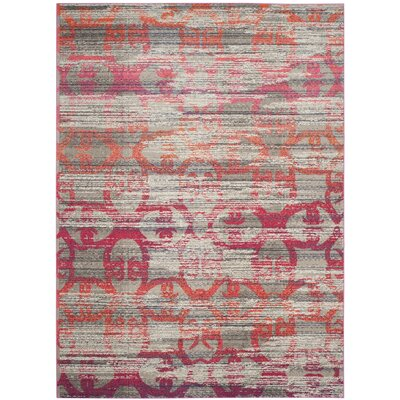 Knowland Gray Area Rug Rug Size: Rectangle 8 x 11