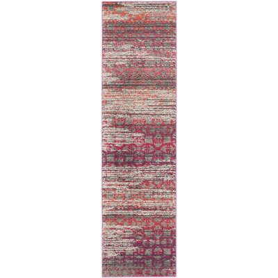 Knowland Gray Area Rug Rug Size: Runner 22 x 8
