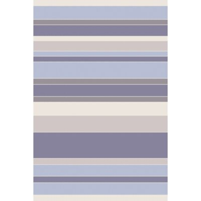 Hand-Tufted Blue/Purple Area Rug Rug Size: 5 x 8