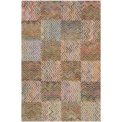 Tufted Cotton Area Rug Rug Size: Rectangle 4 x 6