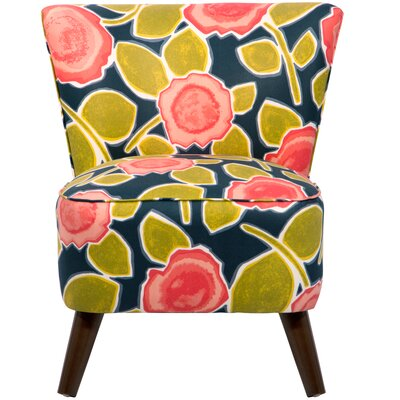 Crown Slipper Chair Upholstery: Groupie Praline