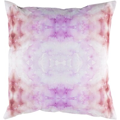 Crystal Indoor/Outdoor Throw Pillow Color: Pink / Magenta
