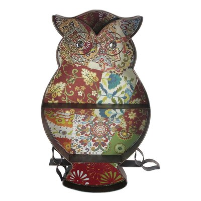 Owl Cutout with Shelves