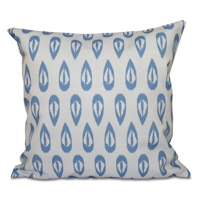 Oliver Outdoor Throw Pillow Size: 20 H x 20 W, Color: Blue