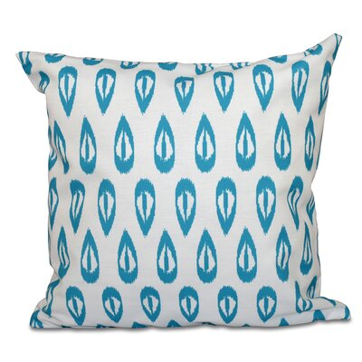 Bridgehampton Outdoor Throw Pillow Size: 18 H x 18 W, Color: Turquoise