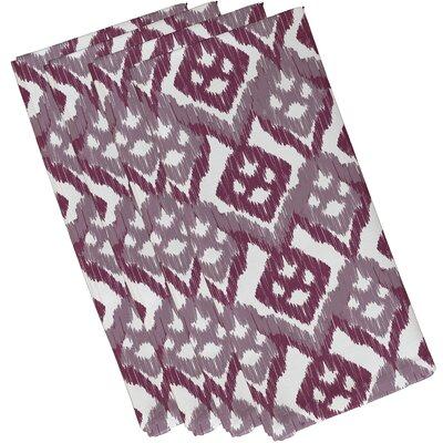 Oliver Hipster Geometric Print Napkin Color: Lavender
