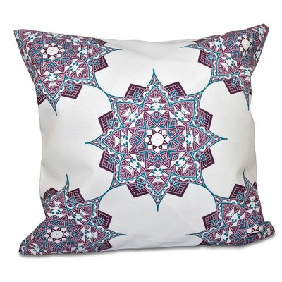 Oliver Rhapsody Outdoor Throw Pillow Size: 20 H x 20 W, Color: Purple