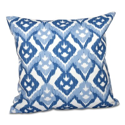 Sabrina Outdoor Throw Pillow Size: 20 H x 20 W, Color: Light Blue
