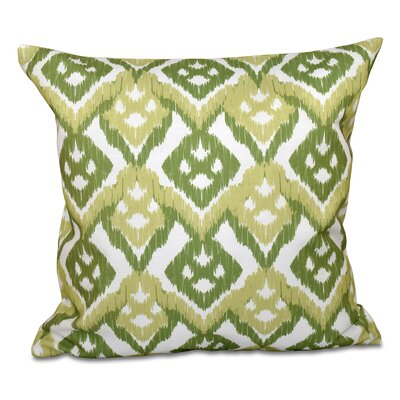 Sabrina Outdoor Throw Pillow Size: 20 H x 20 W, Color: Green