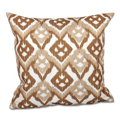 Sabrina Outdoor Throw Pillow Size: 20 H x 20 W, Color: Taupe
