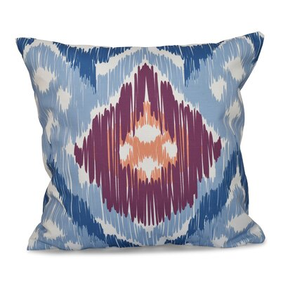 Bridgehampton Traditional Geometric Print Throw Pillow Size: 20 H x 20 W, Color: Light Blue