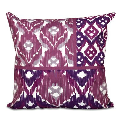 Oliver Free Spirit Geometric Print Throw Pillow Size: 16