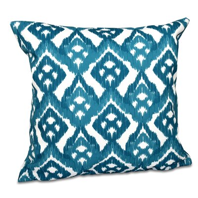 Oliver Hipster Throw Pillow Size: 18 H x 18 W, Color: Teal
