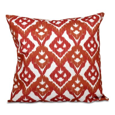 Oliver Hipster Throw Pillow Size: 16 H x 16 W, Color: Coral