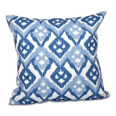Oliver Hipster Throw Pillow Size: 18 H x 18 W, Color: Light Blue