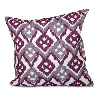 Oliver Hipster Geometric Print Throw Pillow Size: 26 H x 26 W, Color: Lavender