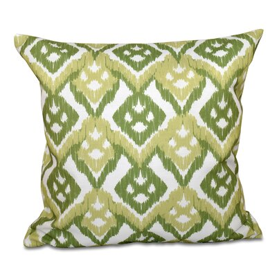 Oliver Hipster Throw Pillow Size: 18 H x 18 W, Color: Green