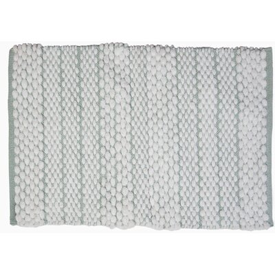 Francois Bath Rug Color: Blue/Green