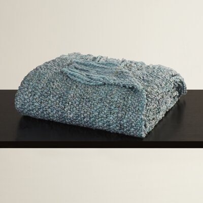 Keeler Woven Throw Blanket Color: Seamist