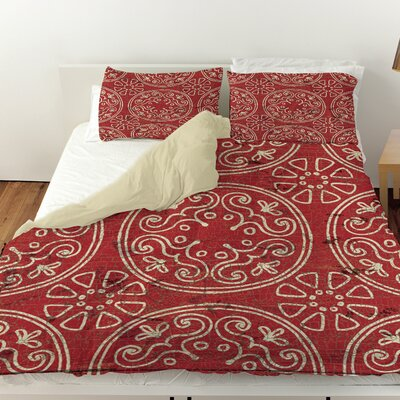 Theo Duvet Cover Size: Twin, Color: Rust