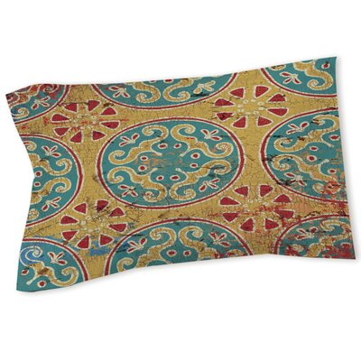 Lankershim Medallion Sham Size: Queen/King, Color: Multi