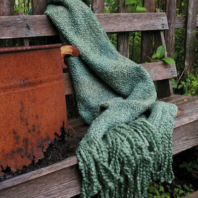 Keeler Woven Throw Blanket Color: Patina