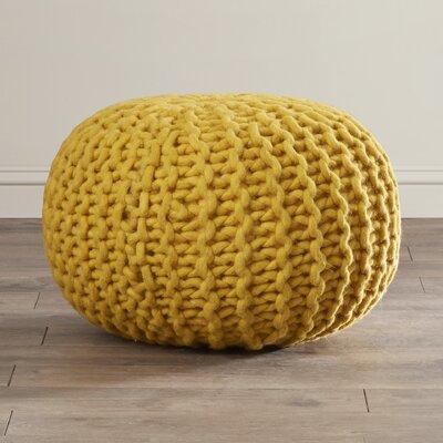 Jabari Pouf Upholstery: Mustard
