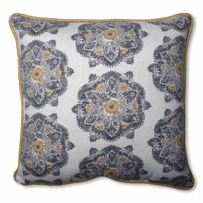 Trent Cotton Throw Pillow Size: 18