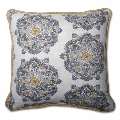 Trent Cotton Throw Pillow Size: 16.5