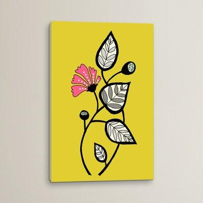 Tanto Tiempo Graphic Art on Canvas
