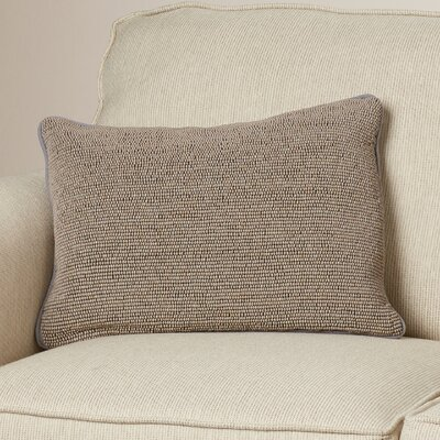 Grosvenor Down Lumbar Pillow Color: Gray/Gray