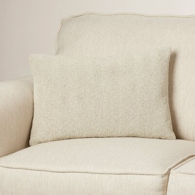 Gore Cotton Lumbar Pillow Color: Light Gray