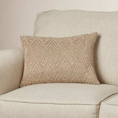 Haley Lumbar Pillow Color: Beige