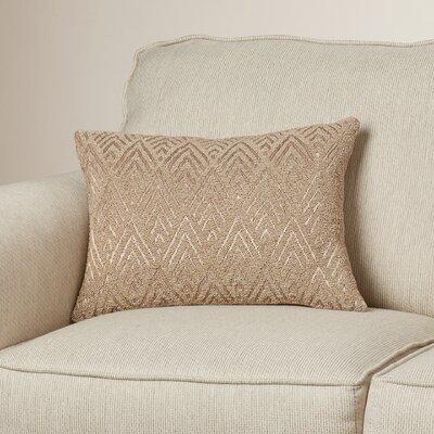 Grant Lumbar Pillow Color: Beige