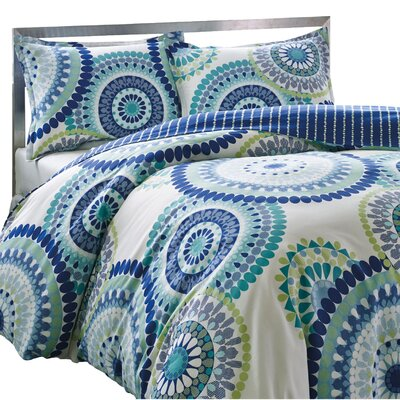 Avanna Reversible Comforter Set Size: Full / Queen