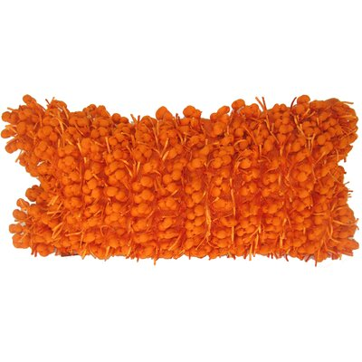 Heerlen Lumbar Pillow Size: 14 x 28, Color: Orange