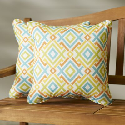 Pick City Indoor/Outdoor Throw Pillow Size: 22 H x 22 W